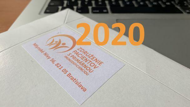 Aktivity na rok 2020