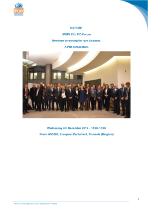 IPOPI 13th EU PID Forum Report final
